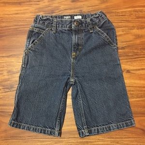 Boys Oshkosh blue jean shorts